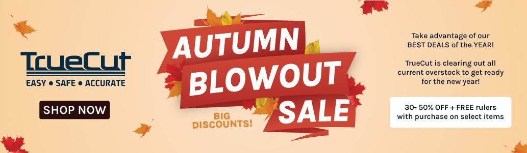 Autumn Blowout Sale